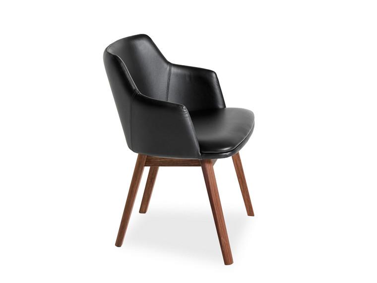 Skovby SM 65 spisebordsstol - læder