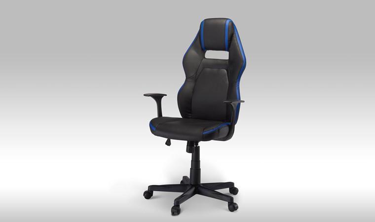 Space kontorstol - blå
