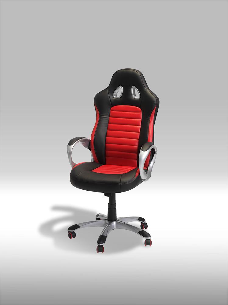 Speedy 2 sort/rød kontorstol