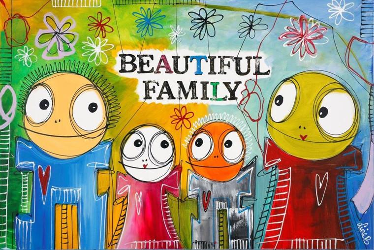 Line B / Beautiful family new