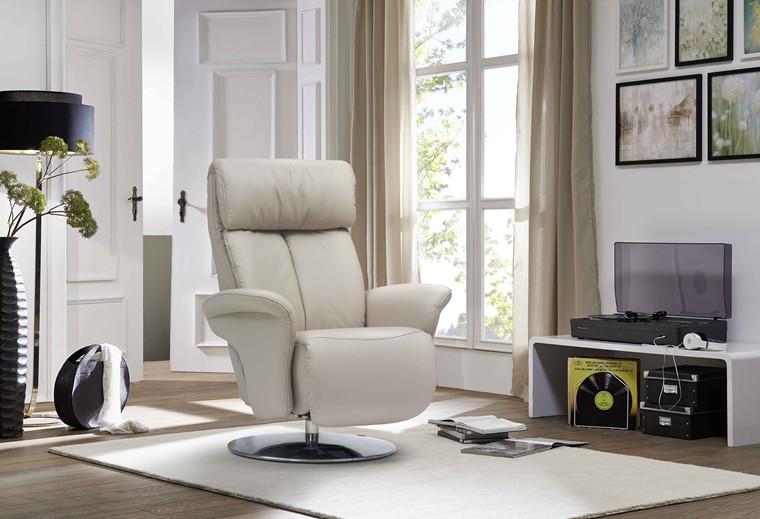 Himolla Easyswing Prestige lænestol med indbygget skammel