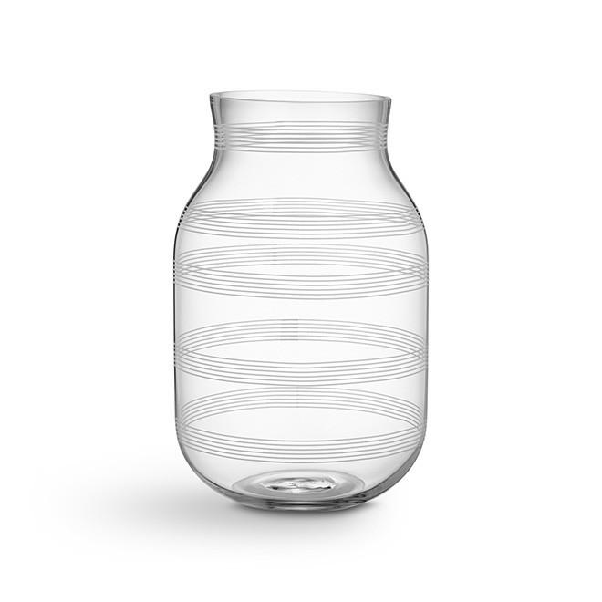 Omaggio vase stor klar