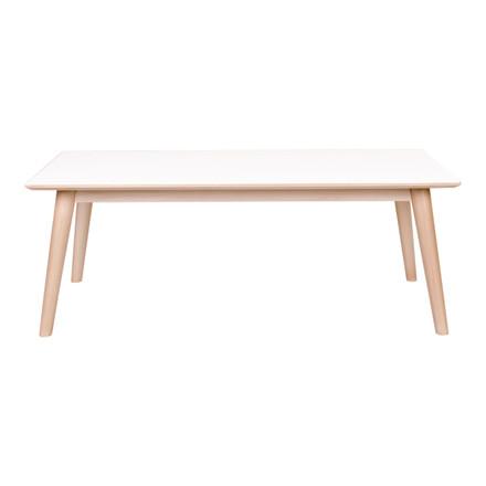 Copenhagen sofabord - hvid/natur