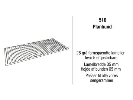 Kaagaard model 510 planbund