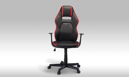 Space kontorstol - rød