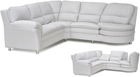 hvid chaiselong sofa