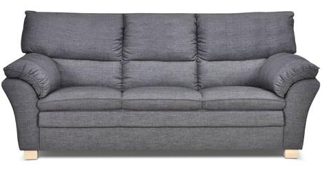 sofa stof 2 pers Palma Sofasæt 3+2 pers i gråt stof   køb online sofa stof 2 pers