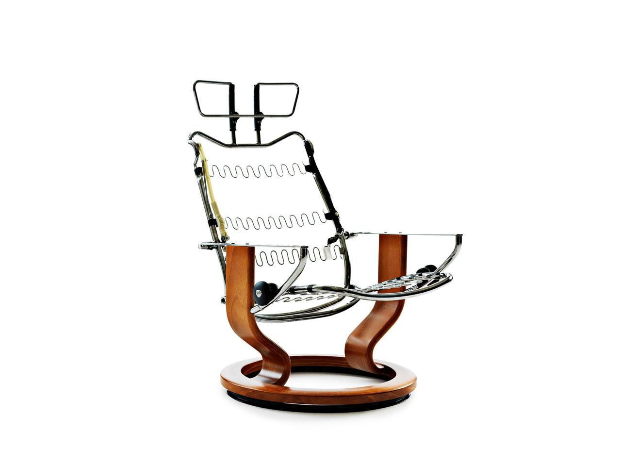 montering af stressless l nestol. Black Bedroom Furniture Sets. Home Design Ideas