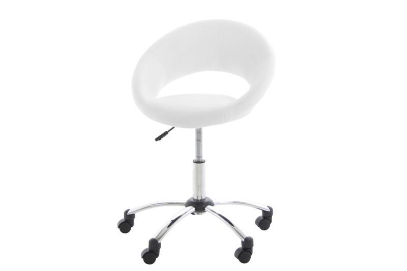 hvid kontorstol
