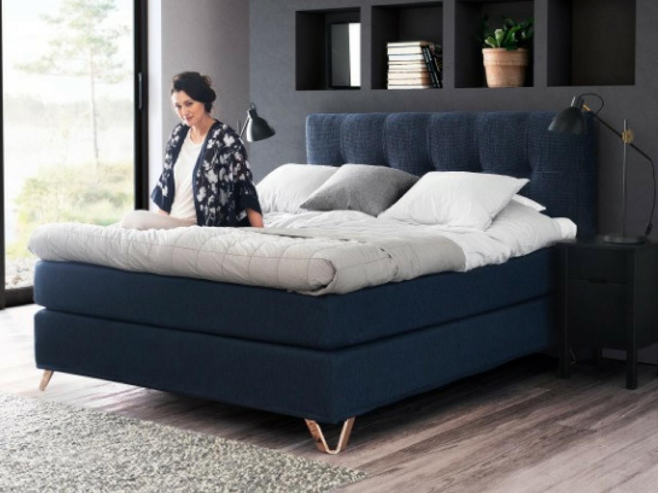 køb seng Jensen Prestige Kontinentalseng   Køb i webshop, fri levering! køb seng