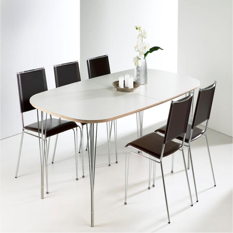 haslev spisebord Haslev 180 spisebord   bordplade i birkekrydsfiner haslev spisebord