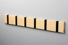Knax 6 knagerække - sort