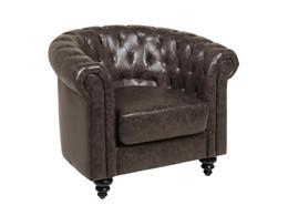 Charlietown lænestol - Mørkegrå