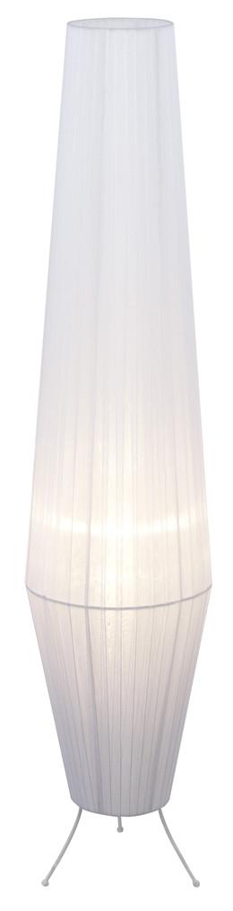 Lavi gulvlampe - hvid