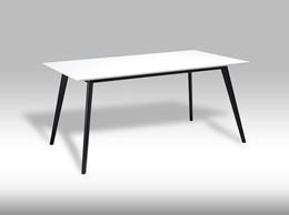 Life spisebord - hvid/sort