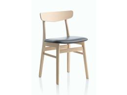 Mosbøl spisebordsstol - læder