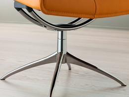Stressless forhøjelseskit til Starbase stel - 1 stol + 1 skammel