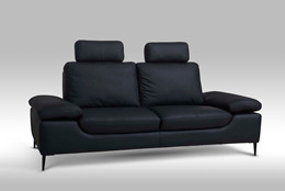 Viktor 3+2 pers. sofa - sort