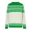 Mads Nørgaard Kanona Green/Ecru Iceland Sweater