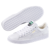 Puma White Basket Classic Sneakers
