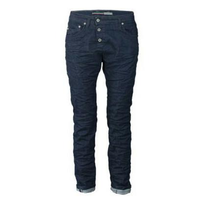 Please C Original Mørk Tre Knaps Jeans