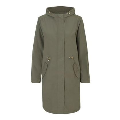 Ilse Jacobsen Army Coty Coat