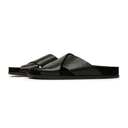 Via Vai  Black Havanna Sandal