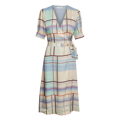 Gestuz Multi Check Ambina Dress