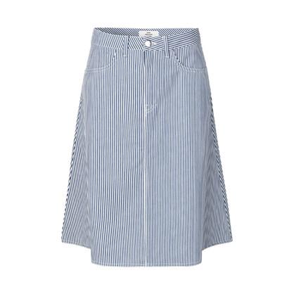 Mads Nørgaard White/Blue Steffi Skirt