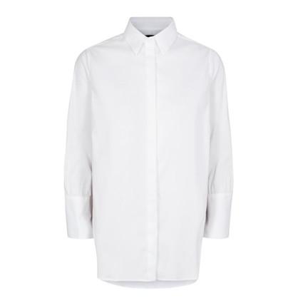 Mos Mosh Hvid Larina Ribbon Shirt