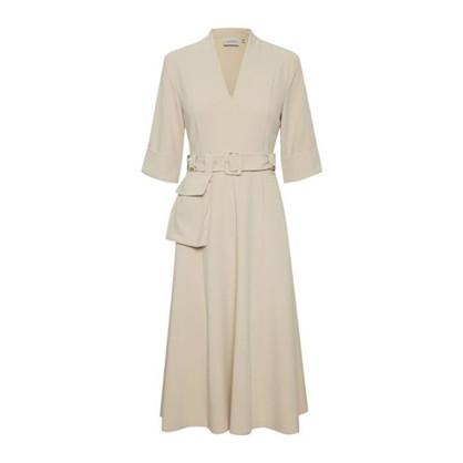 Gestuz Creme Farvet Reem Dress