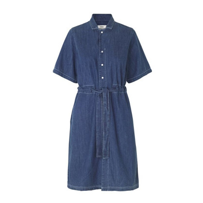 Mads Nørgaard Soft Indigo Daima Vintage Wash Dress