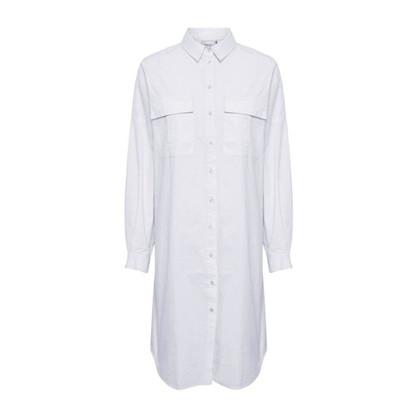 Gestuz Stalia Shirt Dress Bright White