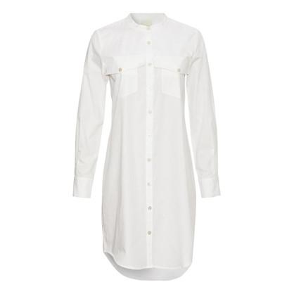 Heartmade Mista Hvid Skjortekjole