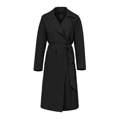 Scandinavian Edition Sort Trenchie Coat