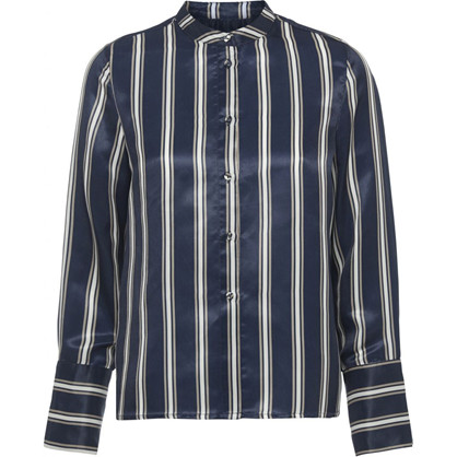 Norr Navy Bobbi Shirt