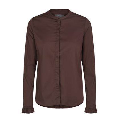Mos Mosh Mørke Brun Mattie Shirt