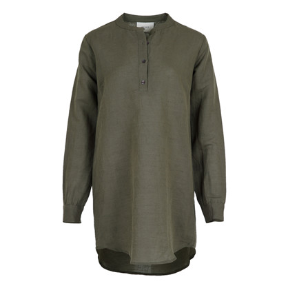 Neo noir Army Dia Linen Shirt