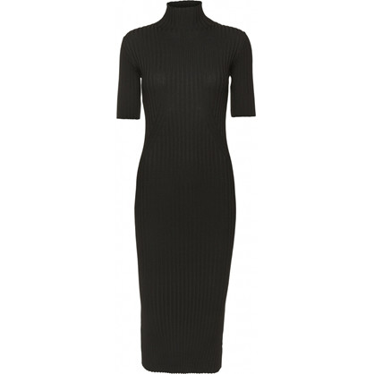 Norr Karlina Knit Dress Black
