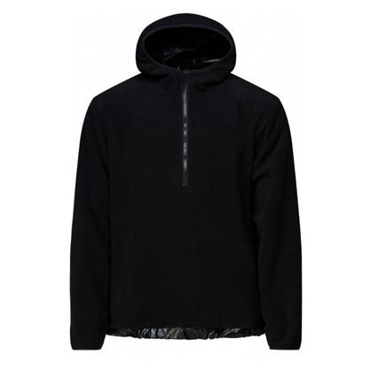 Rains Black Fleece Pullover