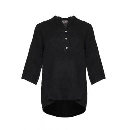 Tiffany Shirt Linen Black