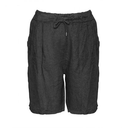 Tiffany Shorts Linen Black