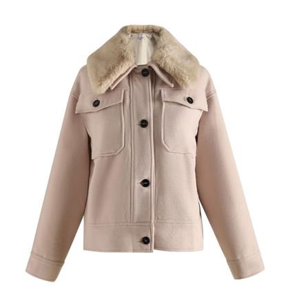 Noella Off White Suki Jacket Wool
