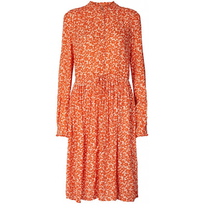 Lollys Laundry Orange Sienna Dress