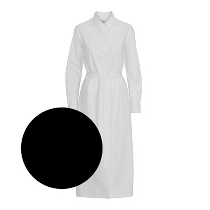 Blanche Valerie Shirt Dress Black
