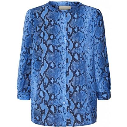 Lollys Laundry Amalie Shirt Blue -