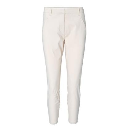 Fiveunits Hvid Angelie Zip Pants