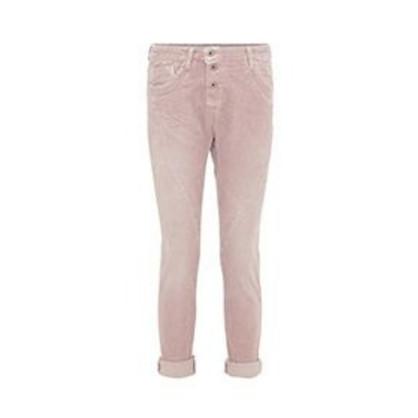 Please Rosa Fløjls Jeans