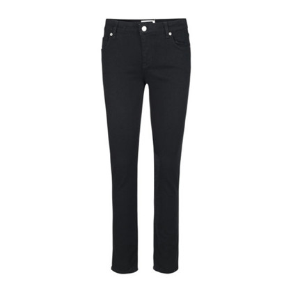Blanche Jade Black Denim MW Jeans