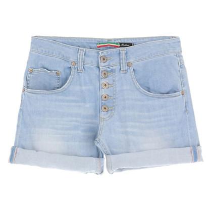 Please  Light Blue Shorts
